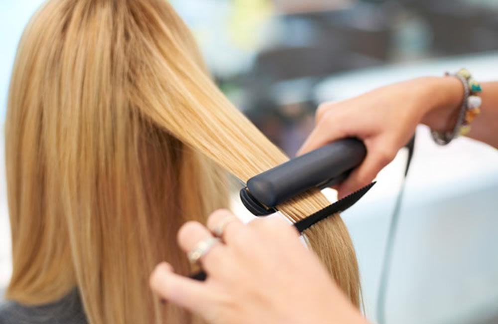 Kerasilk-Haarglätten